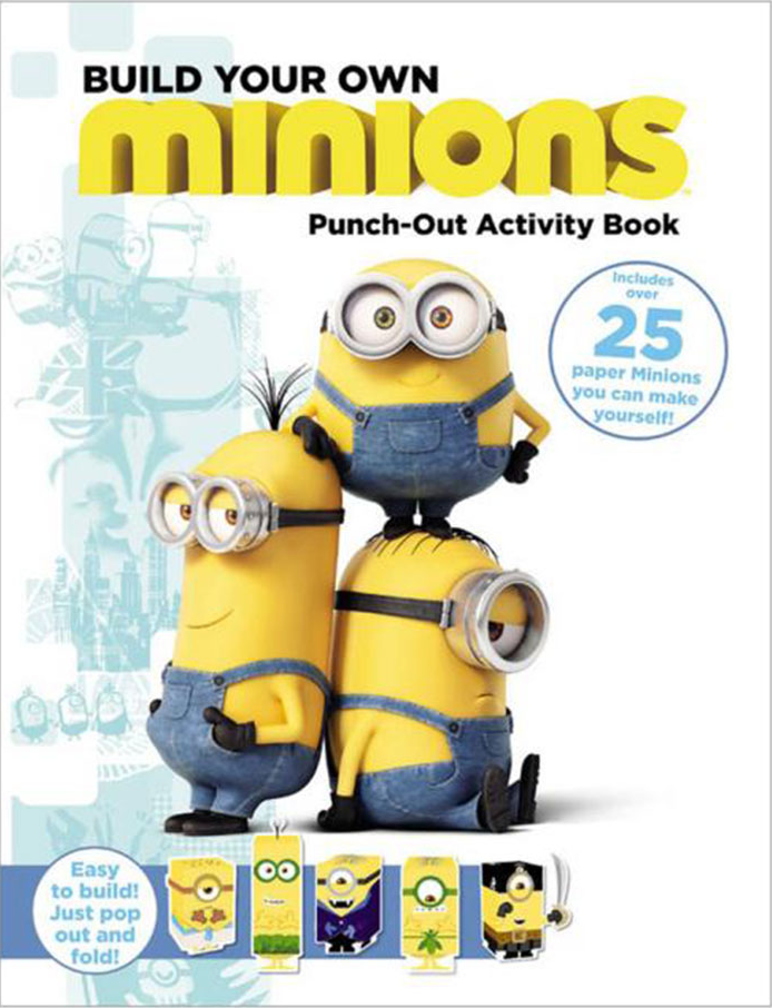 Paper tree build your own minions press out model book will be a paper tree build your own minions press out model book will be a great gift book idea for kids this christmas solutioingenieria Gallery
